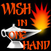 WIsh In One hand button